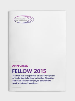 Ann Creed: Fellow 2015