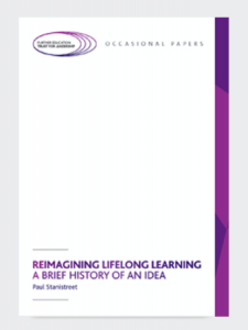 Reimagining Lifelong Learning: A brief history of an idea