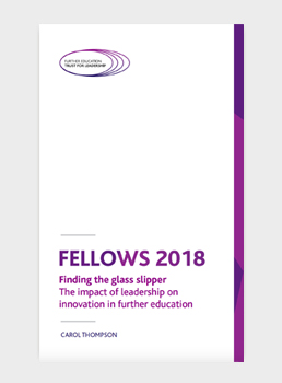 Finding the glass slipper – The impact of leadership on innovation in further education