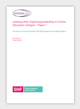 Leading skills: Exploring leadership in Further Education colleges – Paper 1