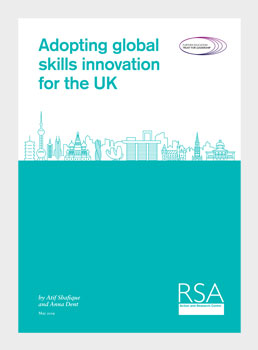 Adopting global skills innovation for the UK