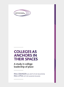 Colleges as Anchors in Their Spaces: A Study in college leadership of place