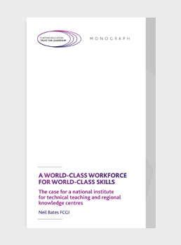 A World-class Workforce for World-class Skills: The case for a national institute for technical teaching and regional knowledge centres