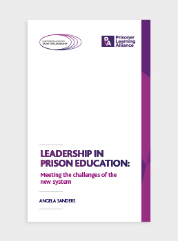 Leadership in Prison Education: Meeting the challenges of the new system