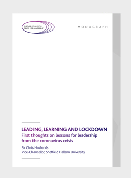 Leadership, learning and lockdown: First thoughts on lessons for leadership from the coronavirus crisis
