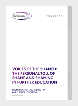 Voices of the shamed: The personal toll of shame and shaming in further education