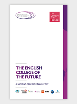 The English College of the Future - A nations-specific final report