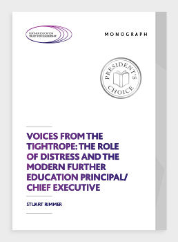 Voices from the tightrope: the role of distress