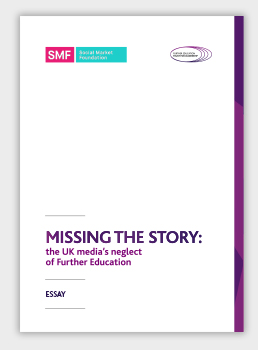 Missing the Story: the UK media's neglect of Further Education